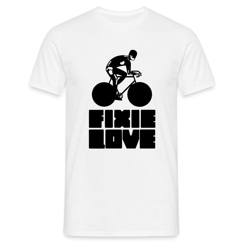 fixie love messenger broken  - T-shirt Homme