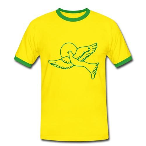 Colombe - T-shirt contrasté Homme