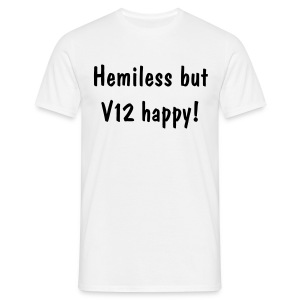 V12 happy - Men's T-Shirt