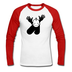 boy - o - boy punk - Men's Long Sleeve Baseball T-Shirt