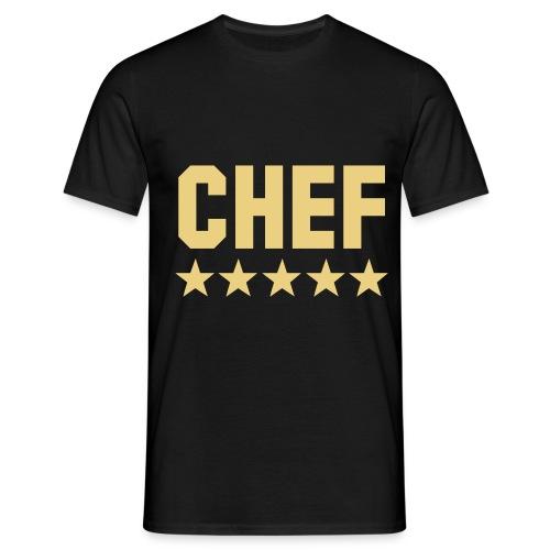 Chef-Shirt - Männer T-Shirt