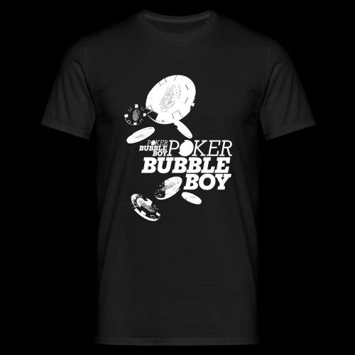 Poker - Bubble Boy (white) - Männer T-Shirt