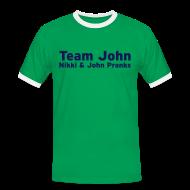 T-Shirts ~ Men's Ringer Shirt ~ Team John! - Mens