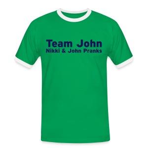Team John! - Mens - Men's Ringer Shirt