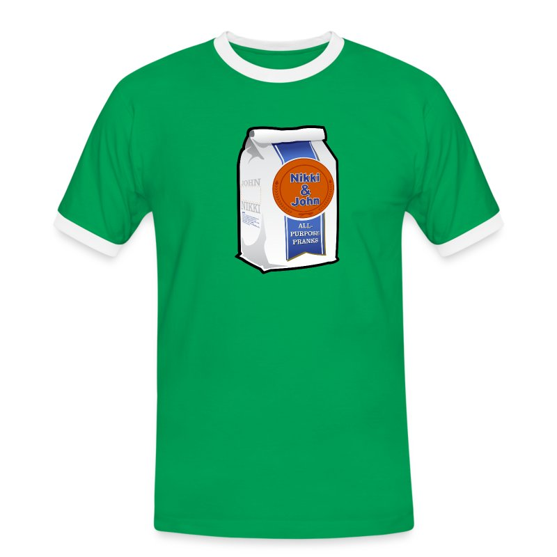 Nikki and John All Purpose Pranks - Mens - Men's Ringer Shirt