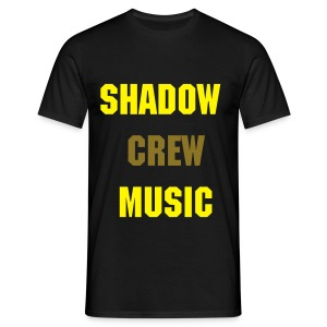 SCM ORIGINAL NOIR JAUNE OR - T-shirt Homme