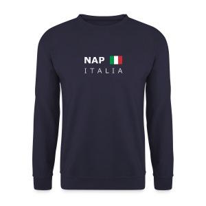 Men's Pullover NAP ITALIA white-lettered - Men's Sweatshirt