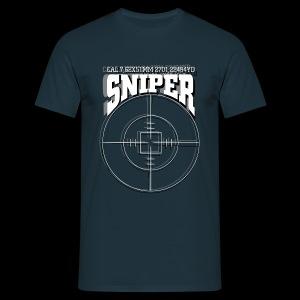 Sniper (white) - Männer T-Shirt