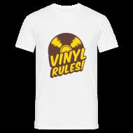 Tee shirts ~ Tee shirt Homme ~ Vinyl Rules ! Tee-shirt Classique Homme