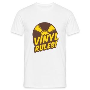 Vinyl Rules ! Tee-shirt Classique Homme  - T-shirt Homme
