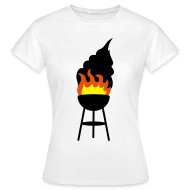 T-shirts ~ Vrouwen T-shirt ~ BBQ