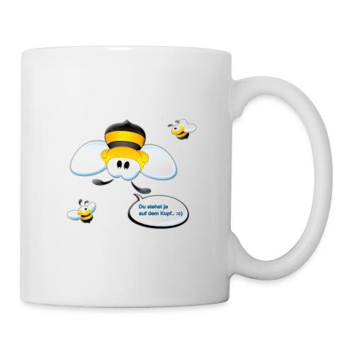 Frühstücks-Tasse (Du stehst ja auf dem Kopf) - Tasse
