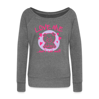 Love me, don't eat me Hoodies & Sweatshirts