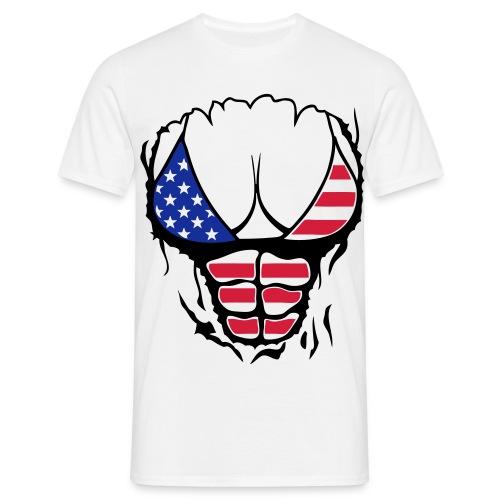 Jockeys Hommes America - T-shirt Homme