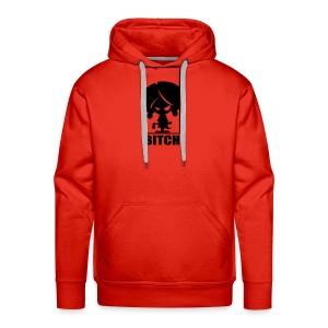 Bitch - Mannen Premium hoodie