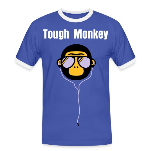 Tough Monkey - Herre kontrast-T-shirt