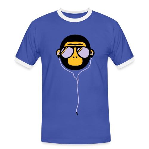 Tough Monkey - Herre kontrast-T-shirt