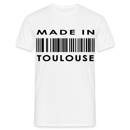 T-shirt basique made in Toulouse homme - T-shirt Homme