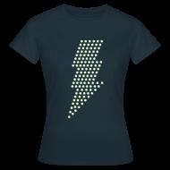 T-shirts ~ Vrouwen T-shirt ~ Bliksem! Glow in the dark