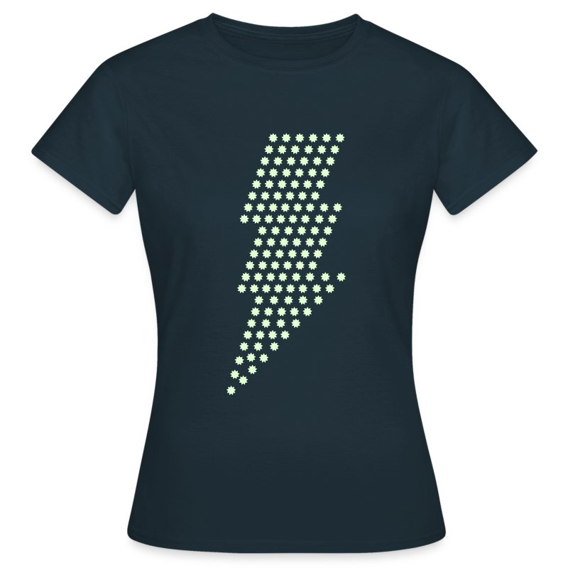 Bliksem! Glow in the dark - Vrouwen T-shirt