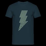T-shirts ~ Mannen T-shirt ~ Bliksem! Glow in the dark