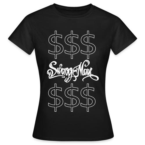 DOLLARS Swagg-Man - Hihihihi Hateerrrrzzz BITACH - T-shirt Femme