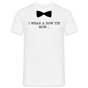 Bow ties are cool - Black - Adult Men - Men's T-Shirt