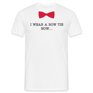 Bow ties are cool - Red -  Adult Men - Men's T-Shirt