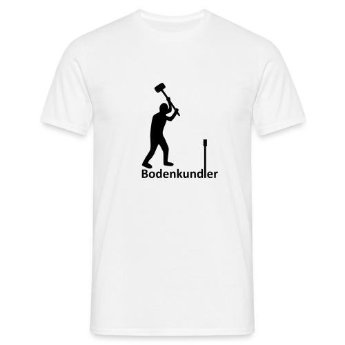 T-Shirt Bodenkundler - I love soil - Männer T-Shirt