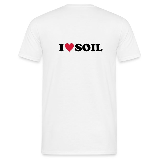 T-Shirt Bodenkundler - I love soil