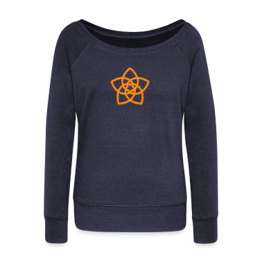 Venus Flower - FLOWER OF LOVE, digital orange, symbol of love, balance and beauty Hoodies & Sweatshirts