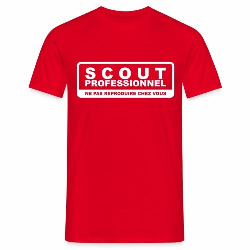 Scout Professionnel - T-shirt Homme