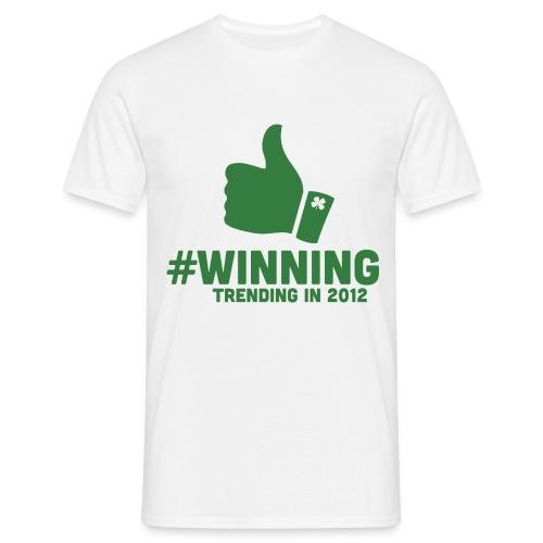 #Winning - Men's T-Shirt