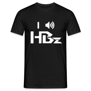 I Hear HBz - Boys (Black) - Männer T-Shirt
