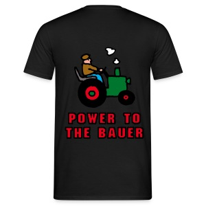 Power_to_the_Bauer_D - Männer T-Shirt