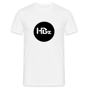 HBz Button - Man (White) - Männer T-Shirt