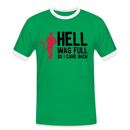 Inferno dei Serial Killer ! - Maglietta Contrast da uomo