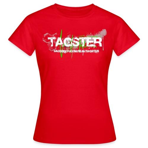 WOMAN - ROT - Frauen T-Shirt