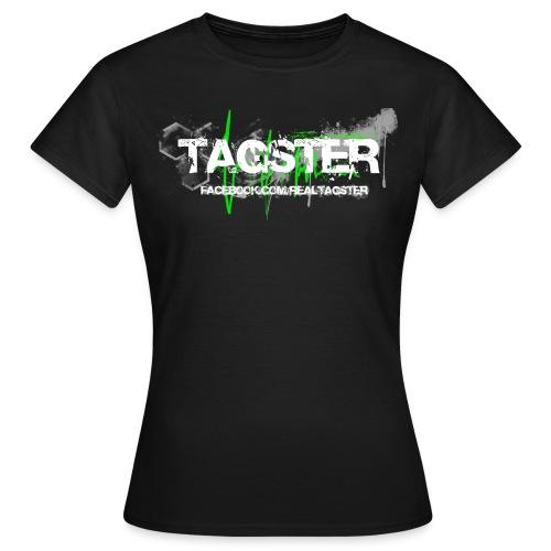 WOMAN - SCHWARZ - Frauen T-Shirt