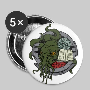 BU56: Cthulhu still waiting in his house - Buttons large 56 mm