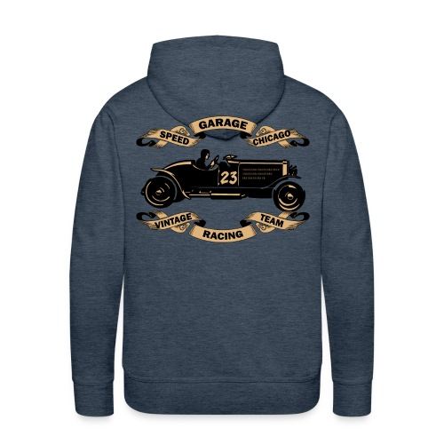 old racing car sweatshirt - Men's Premium Hoodie