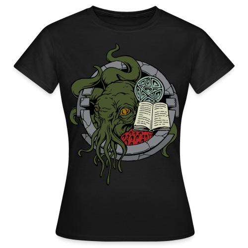 FTEv1: Cthulhu - wartet in seinem Haus  - Frauen T-Shirt