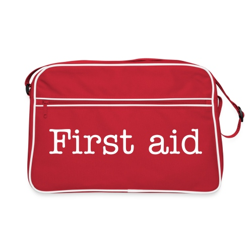 First aid - Retro Tasche