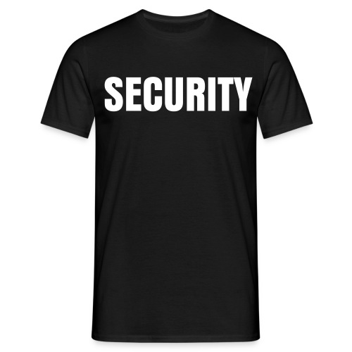 Security Shirt - Männer T-Shirt