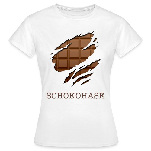 Schokohase! - Frauen T-Shirt