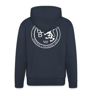 FC Británico White Badge Hoodie - Men's Premium Hooded Jacket