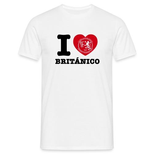 FC Británico I Love Brit'anico T-Shirt - Men's T-Shirt