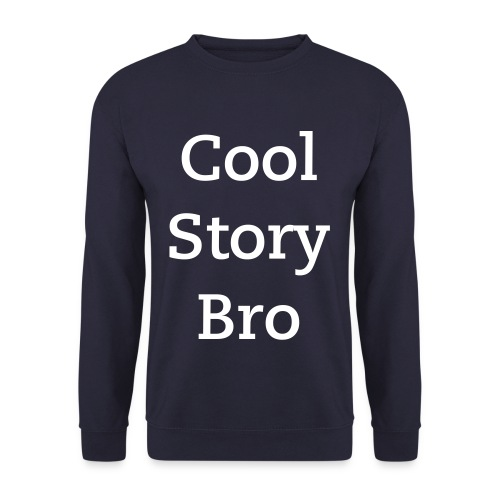 Cool Story Bro - Sweater (navy) - Mannen sweater