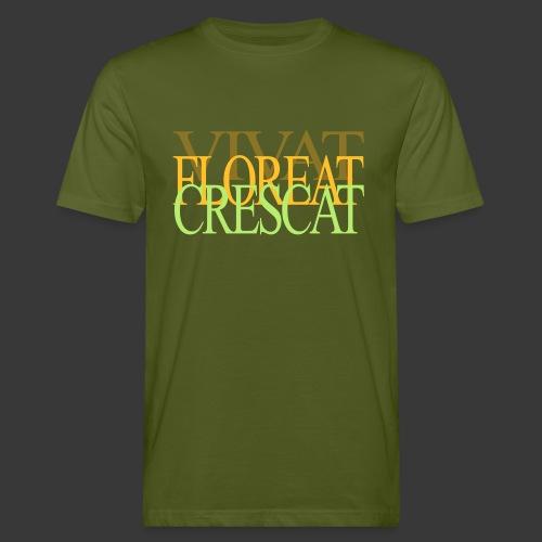 VIVAT FLOREAT CRESCAT - Men's Organic T-Shirt