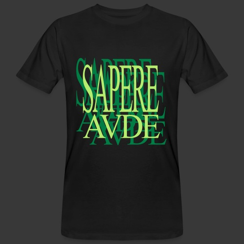 SAPERE AUDE - Men's Organic T-shirt